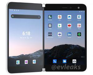 Surface Duo : les rendus officiels fuitent sur le Web !