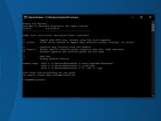 Windows File Recovery : un nouvel outil pour récupérer des fichiers supprimés