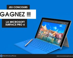 Jeu concours Surface Pro 4 : et le gagnant est...