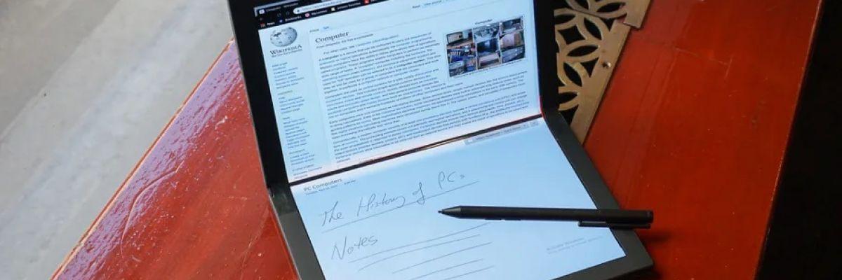 Un nouveau brevet de Microsoft pour un écran flexible plus résistant