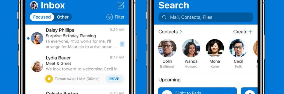 Vous utilisez iOS ? Vous pouvez télécharger la nouvelle application Outlook !