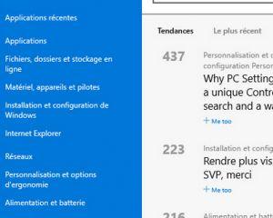 Windows 10 : l'application Feedback sera utilisée encore après la sortie de l'OS
