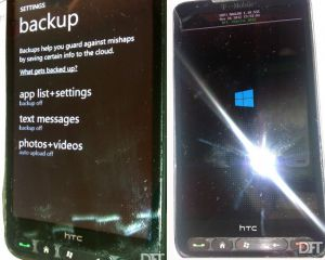 Windows Phone 8 porté sur le HTC HD2 par la DFT