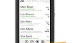Hotmail laisse tomber l'iPhone pour le Nokia Lumia 800 !