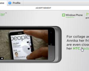 De la pub sur Skype pour le HTC Radar