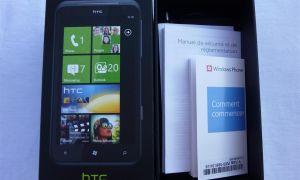 Déballage du HTC Titan par Mon Windows Phone