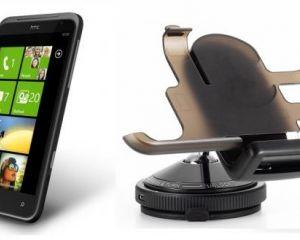 Un support auto pour le HTC Titan