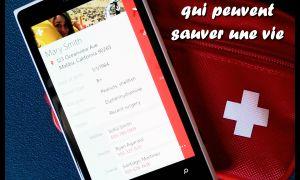 Trois applications Windows Phone qui peuvent sauver une vie