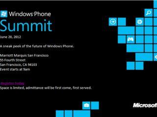 Windows Phone 8 sera officialisé le 20 juin au Windows Phone Summit