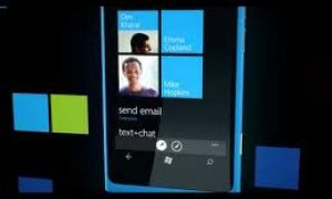 Le Nokia Lumia 800 sur France 24