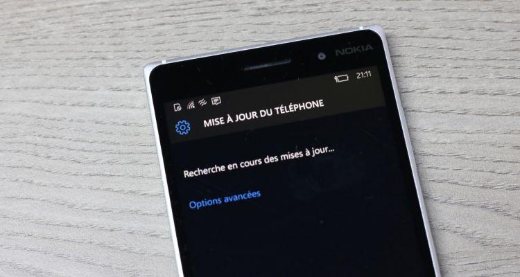 Windows 10 Mobile Preview build 10549 est disponible en Fast Ring