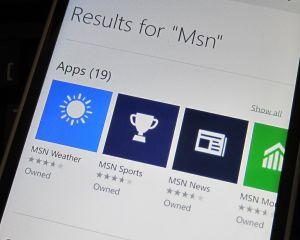 Windows 10 mobile : les applications universelles MSN se montrent enfin