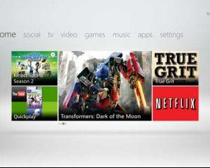Présentation du nouveau Dashboard Xbox 360 avec l'interface Metro