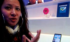 [MWC2013] Interview - Démonstration vidéo de Foursquare par Nokia