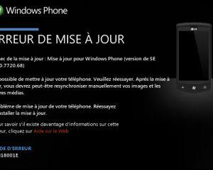 Erreur 8018001E pour la mise à jour Mango sur le LG Optimus 7 [MAJ]