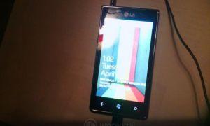 LG Miracle E740H, un nouveau Windows Phone LG pour le Canada ?