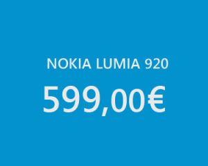 Diminution de prix pour le Nokia Lumia 920 chez Phone House