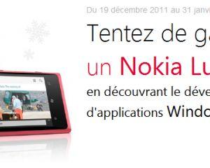 Gagnez un Nokia Lumia 800 en découvrant le développement d'applis