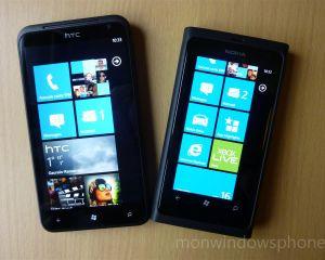 Comparatif : Nokia Lumia 800 vs HTC Titan, lequel choisir ?