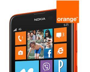 Le WP8 Nokia Lumia 625 chez Orange à partir d'un euro