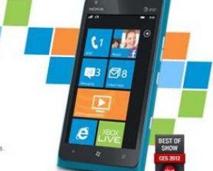 Le Nokia Lumia 900 sur la page d'accueil d'AT&T