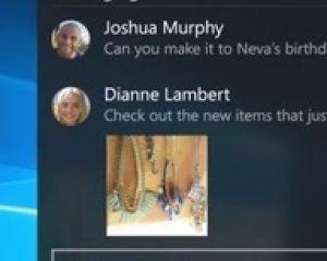 [MAJ] Windows 10 desktop : la messagerie universelle sera là plus tard cet été