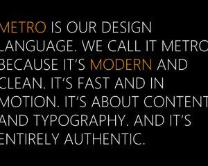 Modern UI, le nouveau nom de l'interface Metro ?