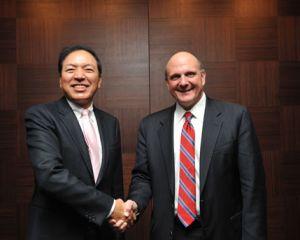 Un nouvel accord marketing entre Samsung et Microsoft