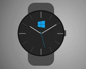Concept d'une montre connectée : la Microsoft Watch