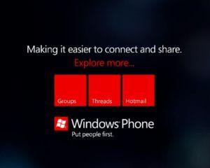 4 nouvelles mini pubs pour Bing dans Windows Phone Mango