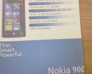 Les spécifications techniques du Nokia 900 Ace révélées ? (rumeur)