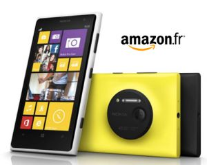 Le Nokia Lumia 1020 en précommande chez Amazon à 724,33€