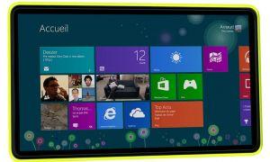 Photo d'une tablette Nokia, présentation au Mobile World Congress ?