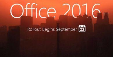 Office 2016 : Microsoft déploie publiquement sa nouvelle suite bureautique