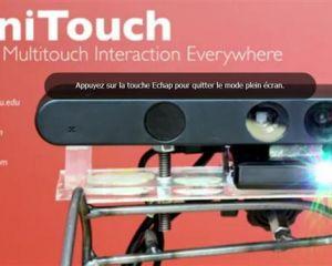 OmniTouch, faites de n'importe quelle surface un écran tactile
