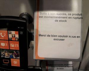Des Windows Phone en rupture de stock vu le succès du produit