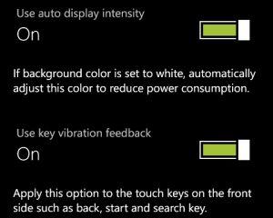 Des paramètres supplémentaires dans les nouveaux Windows Phone Samsung