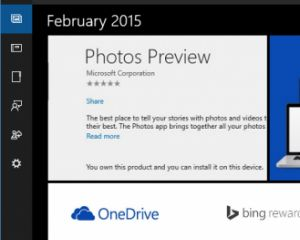 Windows 10 : aperçu de l'application universelle Photos Preview