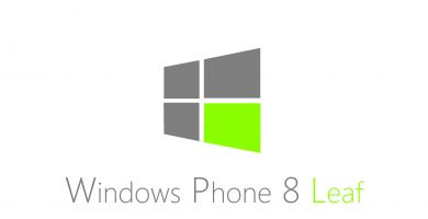 Windows Phone 8 Leaf, nouveau concept de l'interface WP