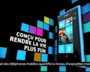 Pub sur YouTube pour le Nokia Lumia 800