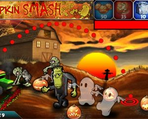 Pumpkin Smash, un jeu sympa pour préparer Halloween