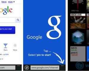 Une tuile spéciale à épingler pour la recherche Google