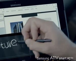 Vidéo : la technologie S-Pen sur les Samsung Ativ