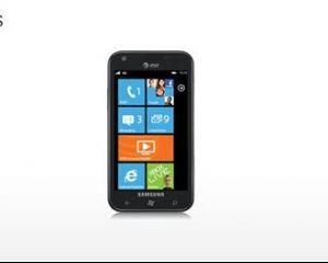 Samsung Focus S : 16Go de stockage et pas d'extension micro-SD