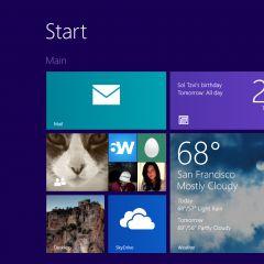 Windows 10 desktop : pas d'écran d'accueil ni de synchronisation d'applis