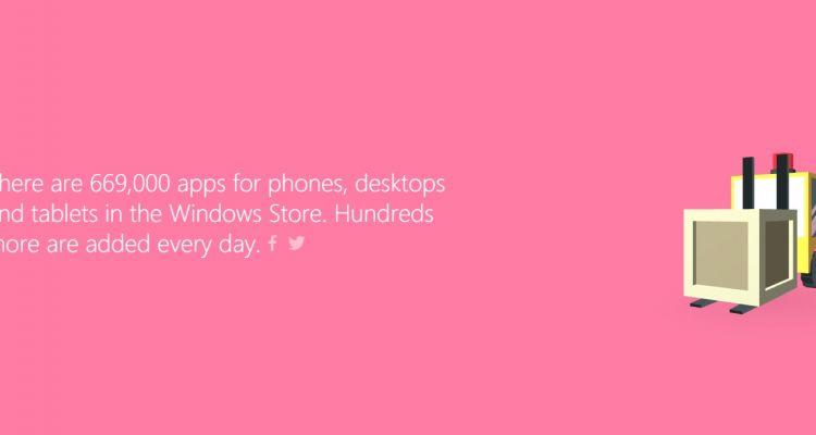 669.000 applications sur le Windows Store et d'autres stats intéressantes