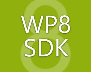 Le SDK Windows Phone 8 est disponible !