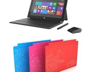 Disponibilités de la Microsoft Surface, nouvelles covers et souris