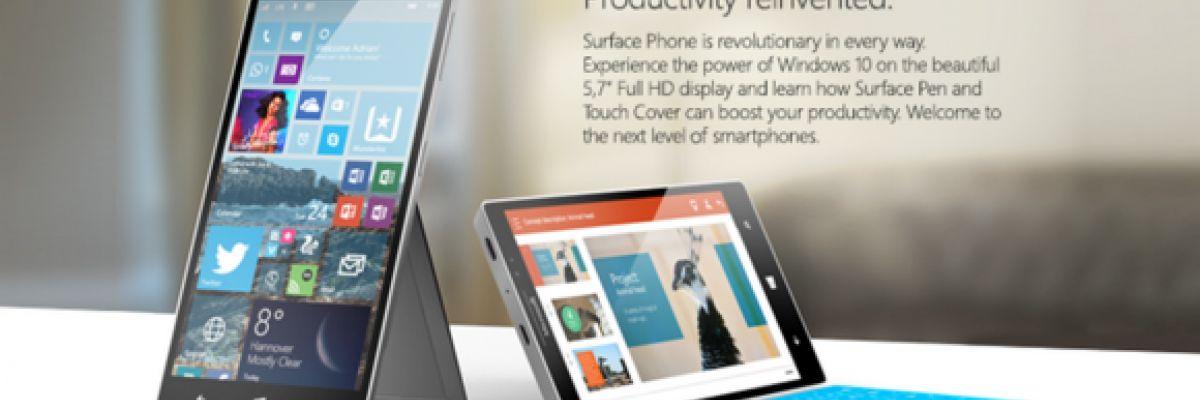 [Rumeur] Surface Phone ou le prototype conçu par la Surface Team