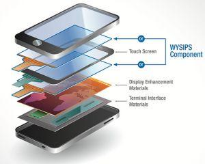Un smartphone avec recharge à énergie solaire pour l'automne
